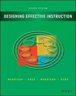Disigning Effective Instruction