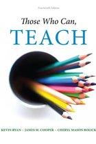 THOSE WHO CAN, TEACH (P)